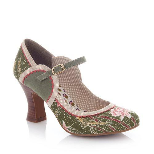 Ruby Shoo Rosalind Shoes-Vendemia