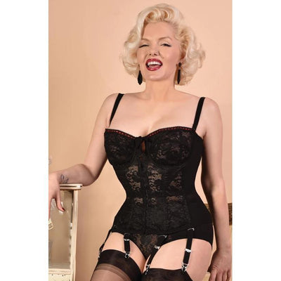 What Katie Did Lulu Noir Merry Widow L6102-Black-Vendemia
