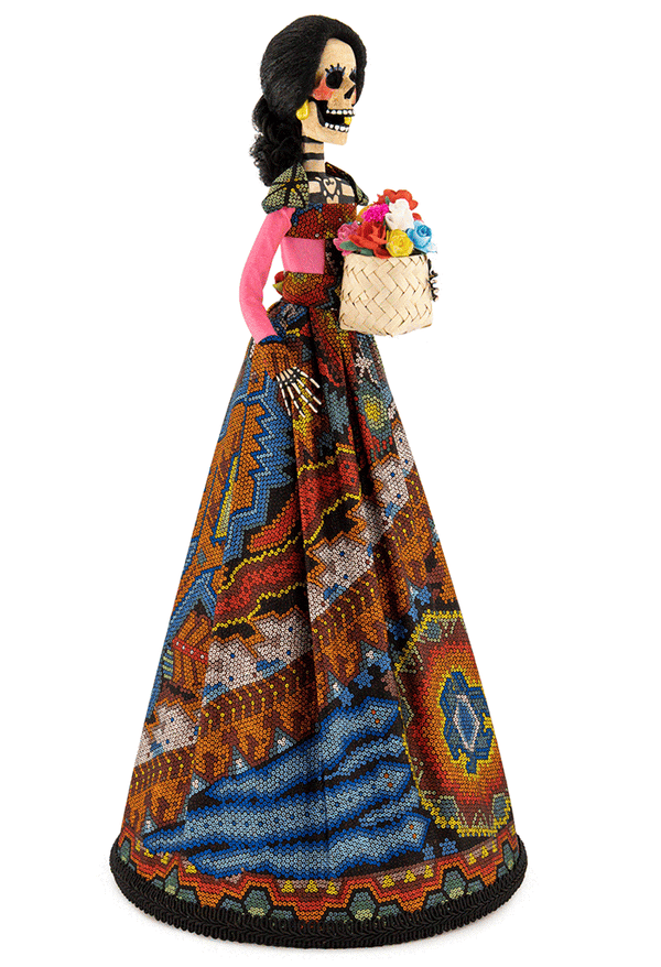 Catrina Huichol Chaquira edición exclusiva Boutique Online*