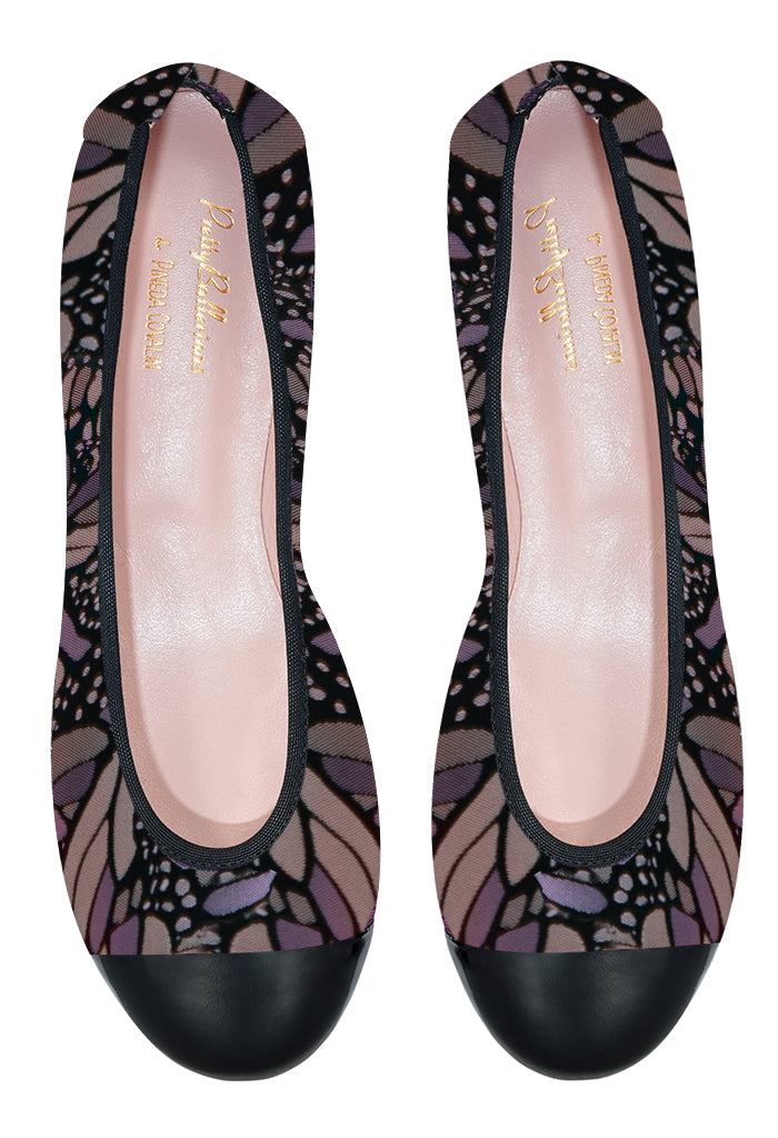 Pretty Ballerinas Mariposa Vitral Lila