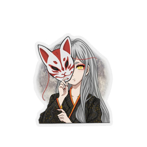 Kitsune Fox sticker