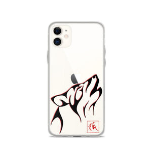 Japanese wolf iphone case