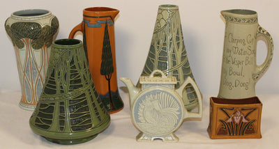 Early Roseville Pottery Patterns