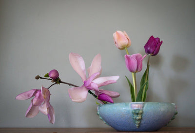 How to improve your home decor with art pottery and flowers