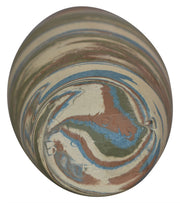 Badlands 1930s Dickota Pottery Colorful Swirl Vase (Howard Lewis) from Just Art Pottery