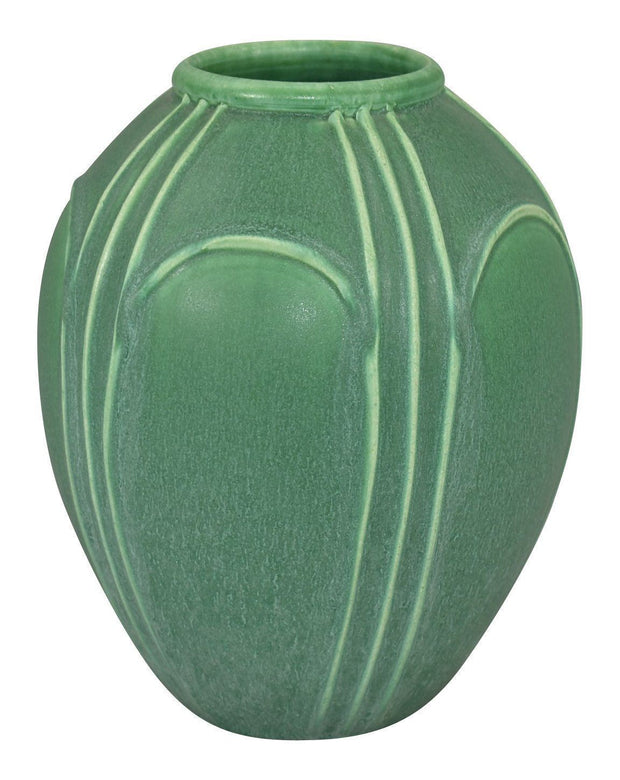 Door Pottery Matte Green Architectural Product Development Vase - Just Art Pottery
