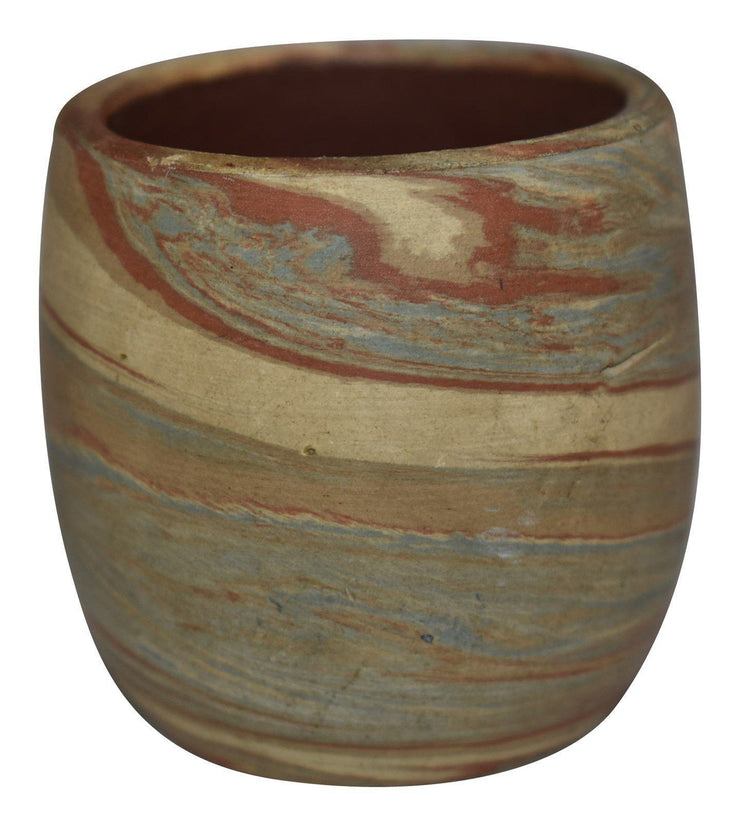 Evans Pottery Mission Tight Swirl Shot Glass from Just Art Pottery