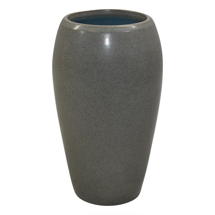 Marblehead Pottery Matte Gray Vase Shape 15 from Just Art Pottery