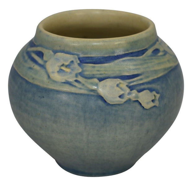 Newcomb College Pottery 1917 Freesia Floral Cabinet Vase (Irvine) from Just Art Pottery