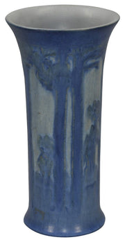Newcomb College Pottery 1931 Moon And Trees Vase (Irvine) - Just Art Pottery