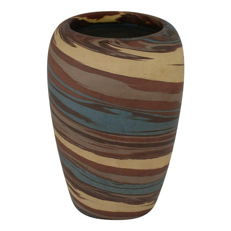 Niloak Pottery Mission Swirl Classically Shaped Vase - Just Art Pottery