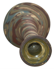 Niloak Pottery Mission Swirl Tall Candle Holder - Just Art Pottery