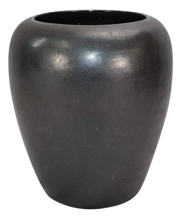 Paul Revere Saturday Evening Girls Pottery Matte Black Arts And Crafts Vase - Just Art Pottery