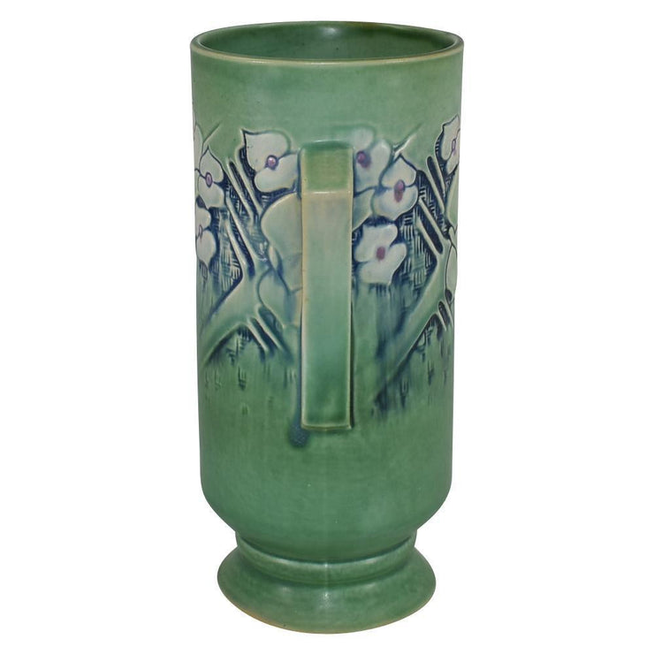 Roseville Pottery Clemana Green Art Deco Vase 755-9 from Just Art Pottery