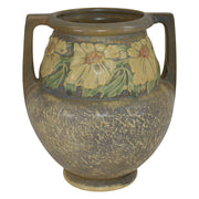Roseville Pottery Dahlrose Trial Glaze Arts And Crafts Vase 367-8 from Just Art Pottery