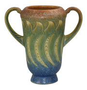 Roseville Pottery Falline Blue Vase 642-6 from Just Art Pottery