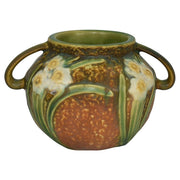 Roseville Pottery Jonquil Vase 524-4 from Just Art Pottery