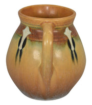 Roseville Pottery Montacello Tan Vase 557-5 - Just Art Pottery