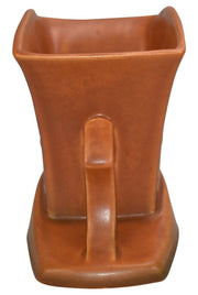 Roseville Pottery Silhouette Russet Ceramic Planter 756-5 - Just Art Pottery