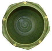 The Arts And Clay Company Jemerick Pottery Grueby Style Yellow Bud Jardiniere - Just Art Pottery