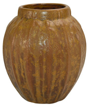 Van Briggle Pottery 1906 Flowers Mottled and Curdled Brown Ceramic Vase Shape 548 - Just Art Pottery