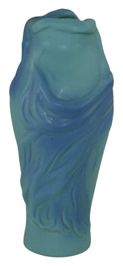 Van Briggle Pottery 1940s Lorelei Blue Vase - Just Art Pottery