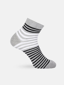 Men Set of 3 Striped Socks