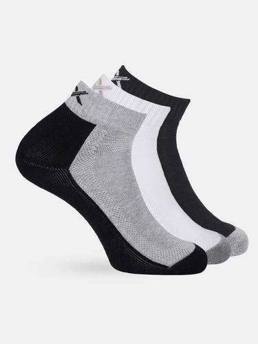 Active Men Set of 3 Ankle-Length Socks