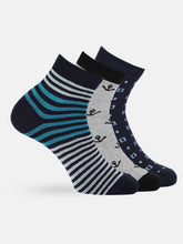 Load image into Gallery viewer, Men Set of 3 Socks