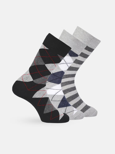 Men Set of 3 Socks