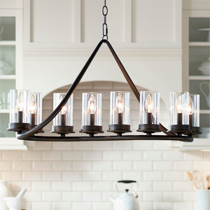 10-Light Pendant Chandelier For Kitchen