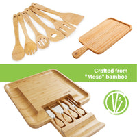 Cheese Board & Cutlery Set