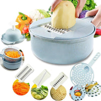 Large Capacity Interchangeable Vegetable Slicer Holder