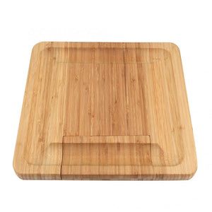 Artisan Bamboo Cheese Cutting and Serving Board