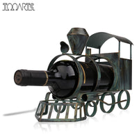 Handmade Train Wine Rack