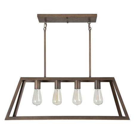 Yosemite Home Decor Skyline Ridge 4-Light Oil Rubbed Bronze Island Light