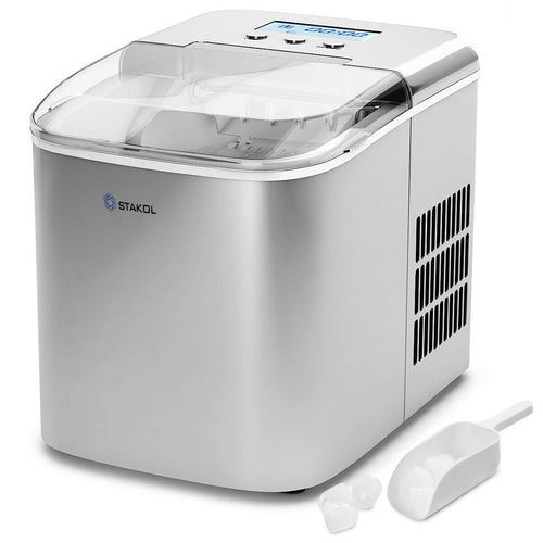 Portable Ice Maker 26 Lbs/24H