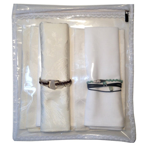 Picture of Tulle/Lace Napkins Storage Bag