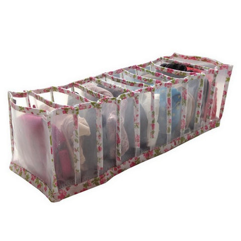 Picture of PEVA Underwear Organizer - Floral Design