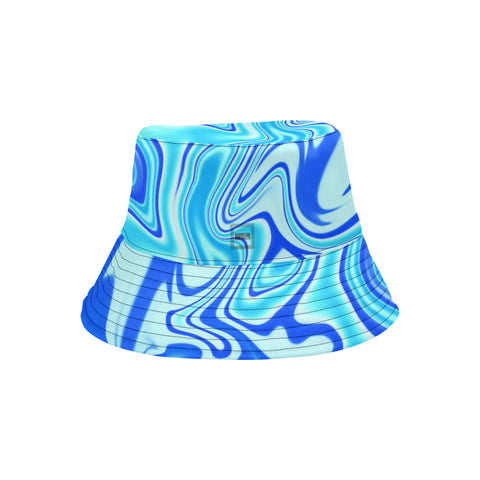 Azul Wavy Bucket Hat