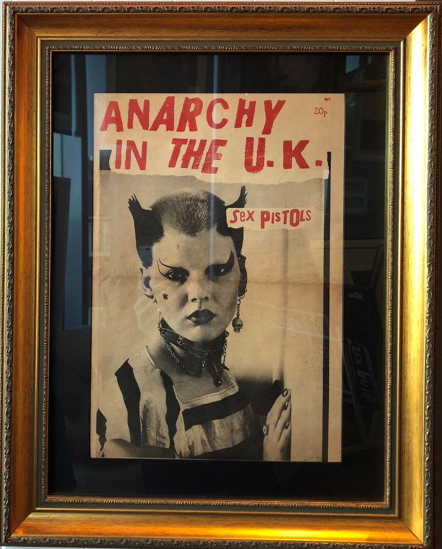 Anarchy In The UK Newspaper