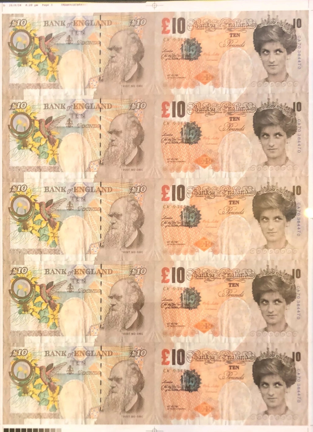 Di-Faced Tenners