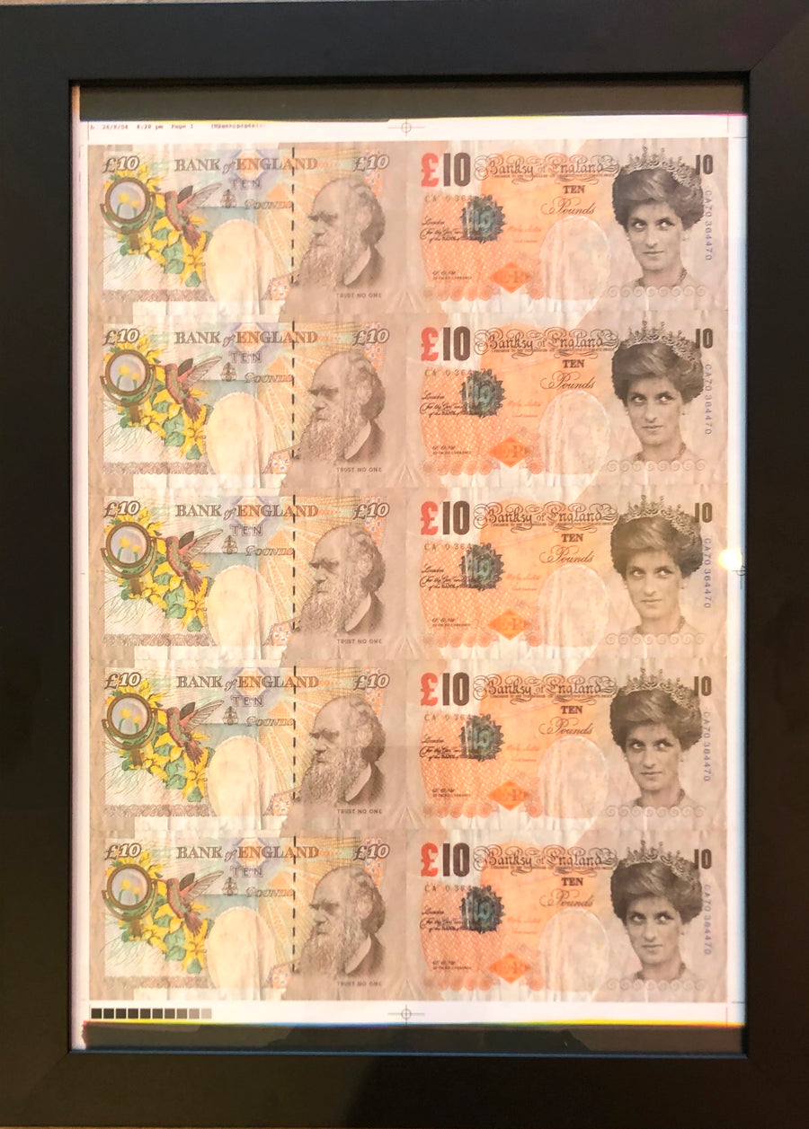 Di Faced Tenners