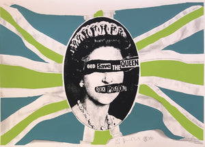 God Save The Queen (Lime Green Colourway)