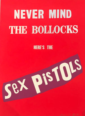 Never Mind The Bollocks (Red Colourway)