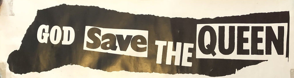 God Save The Queen UK Promotional Banner