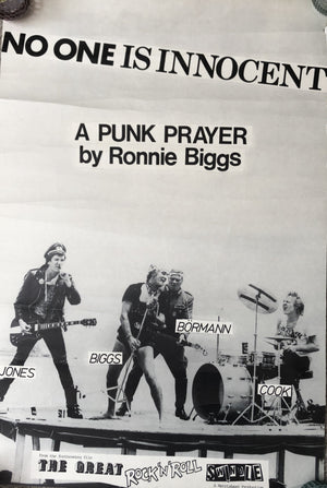 No-One Is Innocent A Punk Prayer By Ronnie Biggs