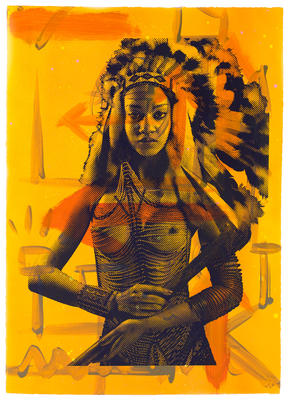 Apache Girl HPM - Yellow