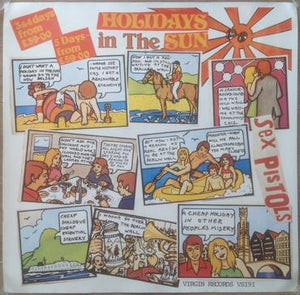 Holidays In The Sun UK Withdrawn Poster