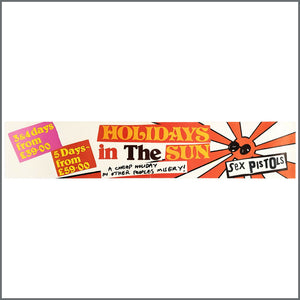 Holidays In The Sun Instore Banner